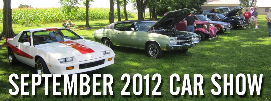September 2012 Car Show